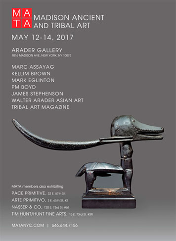 James Stephenson African Art Exhibits - Madison Ancient and Tribal Art 2017